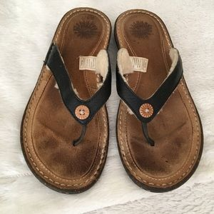 GUC Ugg flip flops size 8
